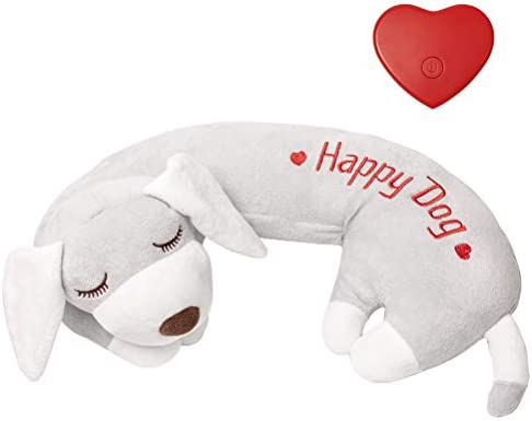 Dog Heartbeat Toy for Anxiety Relief, Calming...