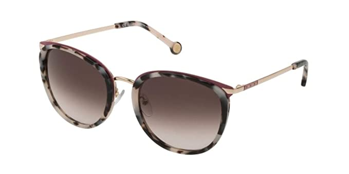Carolina Herrera SHE131 HAVANA WHITE/BLACK (09BB) - Gafas de ...