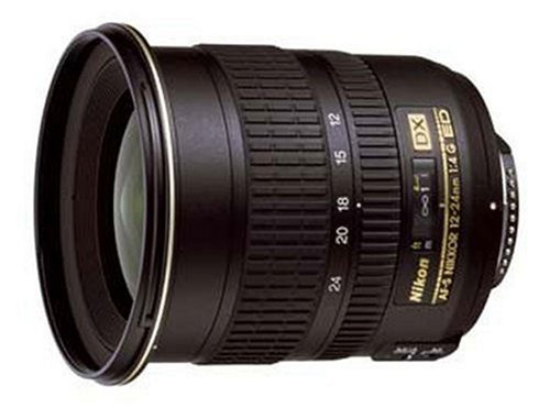 Nikon AF-S DX NIKKOR 12-24mm f/4G IF-ED Zoom Lens with Auto Focus for Nikon DSLR Cameras