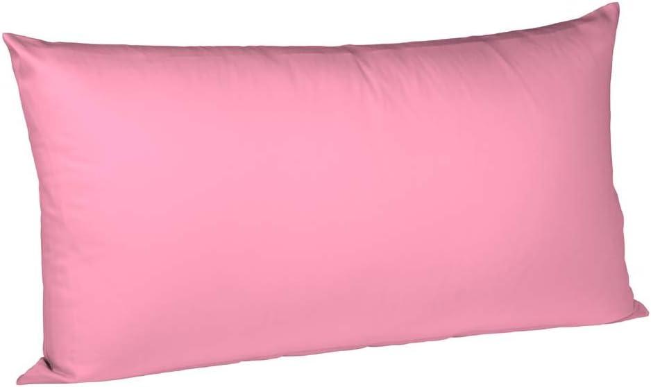 Nouveau satin de coton oreiller couvre 40x 40 cm Foncé Lilas avec zip