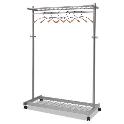 Practical Chrome Coat Rack