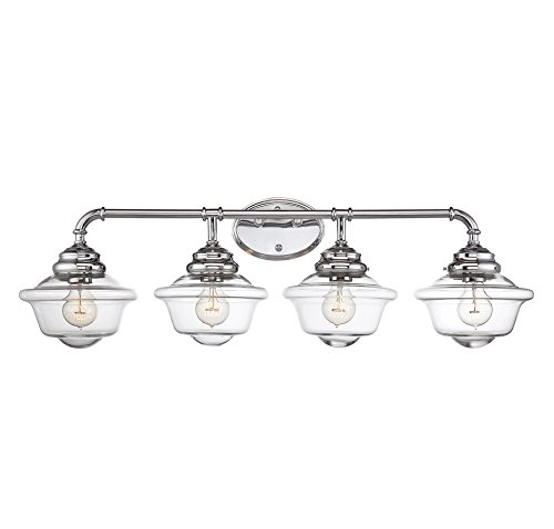11 Fairfield 4-Light Vanity Bar in Chrome (Fairfield Bath Vanity)