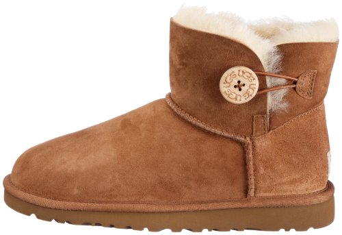 Femme Button tr Boots Button sw980 Ugg W's Marron Mini Bailey wRnxPPqHvF