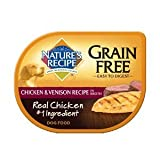 Nature's Recipe Grain Chicken & Venison Recipe in Broth Dog Food 24/2.75-oz trays by Nature's Recipe