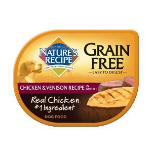 Nature's Recipe Grain Chicken & Venison Recipe in Broth Dog Food 24/2.75-oz trays by Nature's Recipe by Nature's Recipe