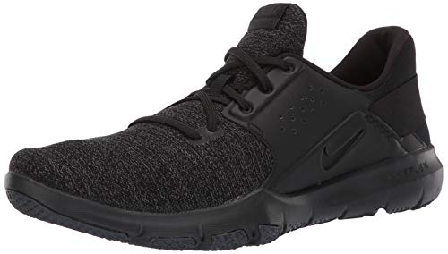 Nike Men's Flex Control TR3 Sneaker, Black-Anthracite-White, 9.5 Regular US