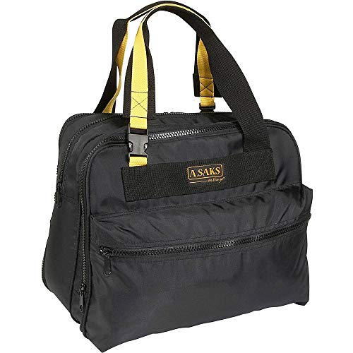 A.Saks Deluxe Expandable Nylon Shoulder Tote in (Deluxe Expandable Shoulder Tote)