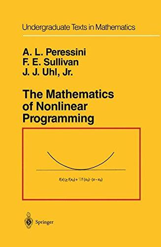 The Mathematics of Nonlinear Programming (Undergraduate Texts in Mathematics)