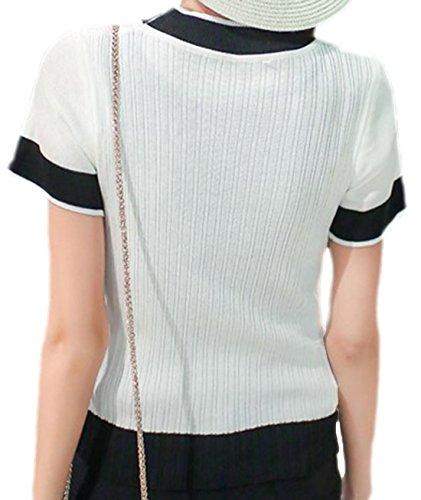 erdbeerloft - Camiseta - Opaco - para mujer blanco