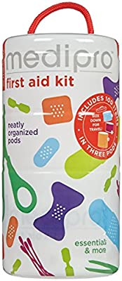 me4kidz Medipro All Purpose First Aid Kit, 100 Count by me4kidz, LLC - HPC