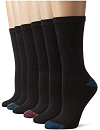 Women's Comfort Blend Crew Sock, 6 Pack