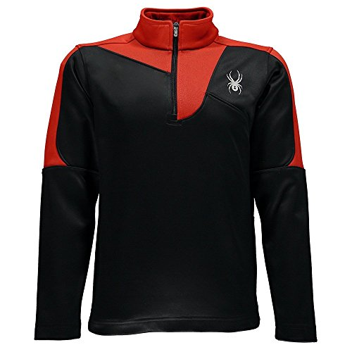 Spyder Boys Charger Therma Stretch T-Neck
