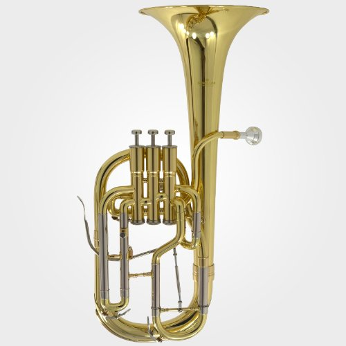 Schiller Edinburg Elite Eb Alto Horn - Gold Lacquer by Schiller