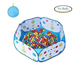 Kids Ball Pit, Karida Large Pop Up Toddler Ball Pits Tent for Toddlers, Children for Indoor Outdoor Baby Ball Pool Playpen with Zipper Storage Bag, Balls Not Included