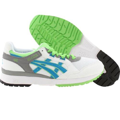 Asics Mens Gt-cool Sneaker Alta Moda In Tessuto Alla Caviglia Bianco / Blu Pacifico