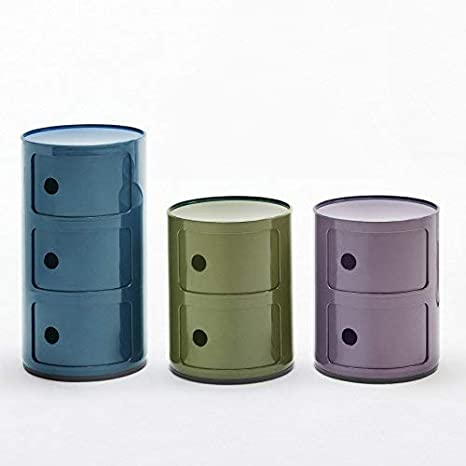 Kartell - Sistema Modular, ABS, Verde, 32x32x40 cm: Amazon.es: Hogar
