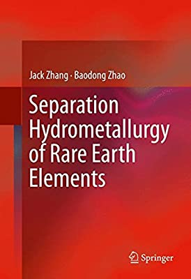 Separation Hydrometallurgy of Rare Earth Elements
