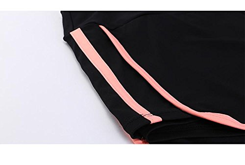 Pants Fanceey 6pcs Yoga Sets Women Gym Clothes Polyester Blends Material Breathable Sports Bra Shirt Yoga Sets