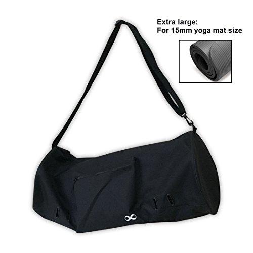5b8f8b75781f YogaAddict Large Yoga Mat Bag Compact With Pockets   Zipper