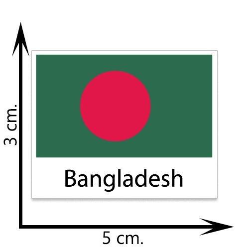 Bangladesh Flag Temporary Tattoos Sticker Body Tattoo