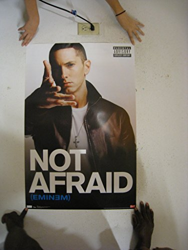 Eminem Poster I Am Not Afraid Slim Shady Recovery 5279 Colle