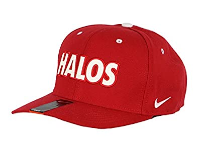 Nike Men's Los Angeles Angels of Anaheim Halos Flex Fit Cap One Size Red