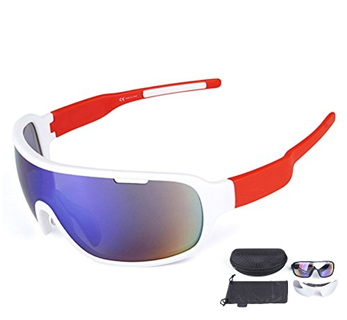 Lorsoul Polarized Sports Cycling Sunglasses Bike Glasses for Men Women Running Driving Fishing Golf Baseball Racing Ski Goggles - Goggles Golf