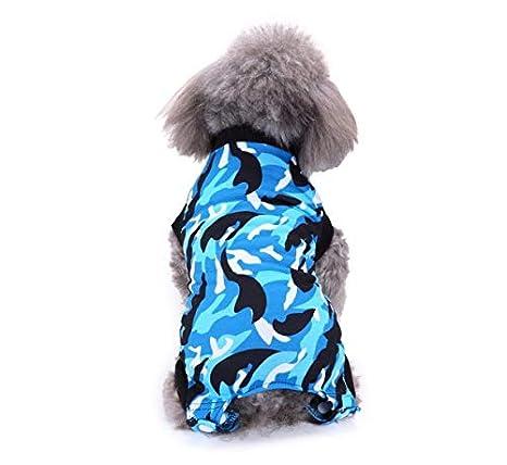 DMMW Ropa para Mascotas, Perros y Gatos, Camuflaje Rosado y ...