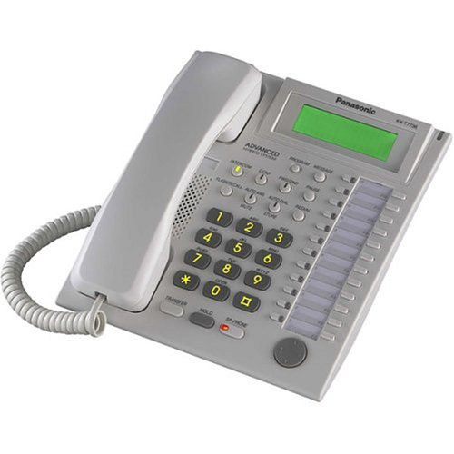 Kx T7736 Corded Telephone Panasonic (Panasonic KX-T7736 Telephone White (Certified Refurbished))