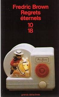 Book's Cover ofRegrets éternels
