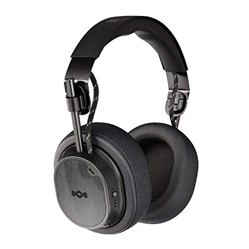 Exodus Noise Cancelling Headphones   28 hr Playtime, 50mm Hi Definition Drivers   House of Marley