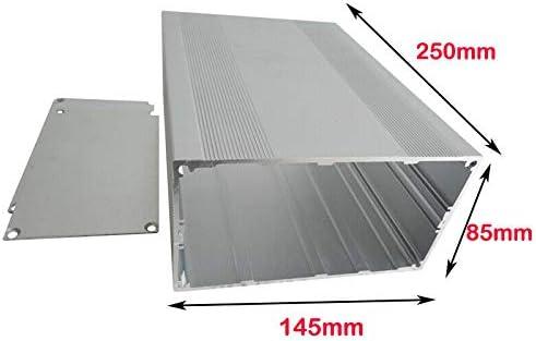 Caja de aluminio para instrumentos, BE-TOOL, caja de aluminio para proyectos electrónicos para placa PCB DIY: Amazon.es: Bricolaje y herramientas