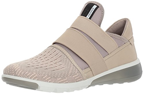 ECCO Women's Intrinsic 2 Band Fashion Sneaker, Oyester-Rose Dust, 41 EU / 10-10.5 US