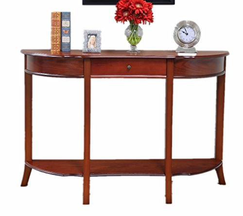 Frenchi Home Furnishing Console Sofa Table with Drawer - Sofa Table Baskets