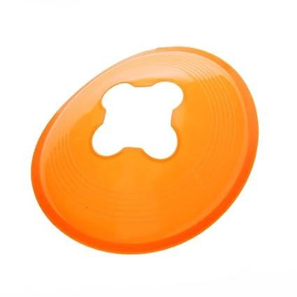 5pcs 2 inch Half Cone Agility Cone Marker for Football Soccer Sports Field Practice Drill (Orange) Generic