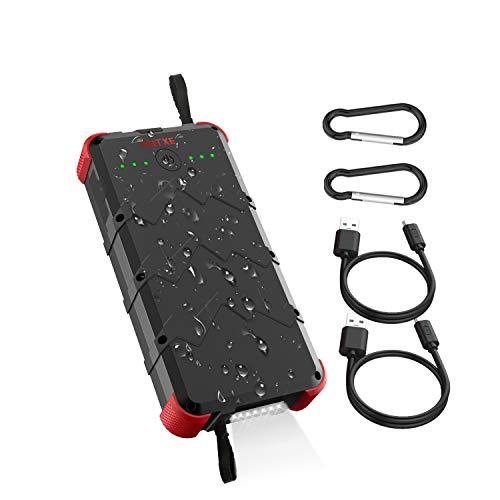 OUTXE 20000mAh Waterproof Flashlight Portable