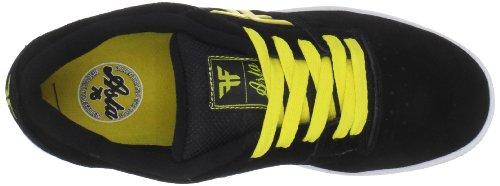 Fallen Men's 01/01/114346 skateboarding shoes Black (Black / Yellow) 8tsIVVFDAD