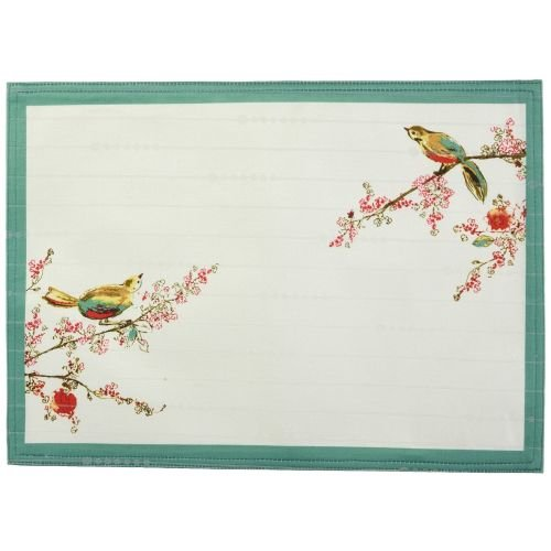 - Lenox Chirp Print, Pack of 4 Placemats, Multi