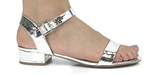 Gladiator Womens Sandals City Casual Classified Silver Gladiator Basic City Casual Sandals Womens Classified Silver Basic AAH7Ozw