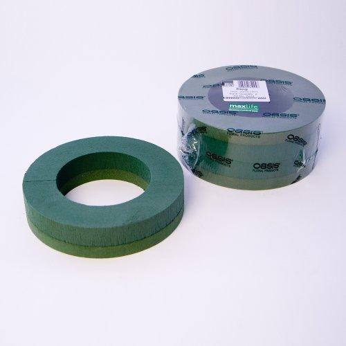 Smithers Oasis Steckschaum-Ringe, 25 cm Außendurchmesser, 2 Stück