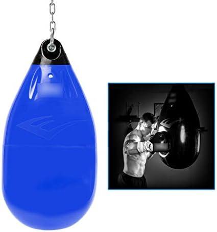 ボクシングバッグ三田吊り家庭用ボクシングバッグ成人した子供のフィットネス戦いのトレーニング機器バッグベント (Color : Blue, Size : 36.2*36.2*94.3cm)