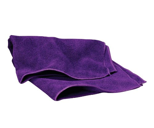 WAXIE Purple Microfiber Cleaning Cloth 16 X 16 (Case of 180) by Waxie (Image #1)