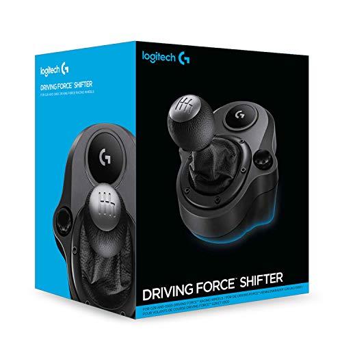 Câmbio Logitech G Driving Force - Compatível com Volantes Logitech G923, G29 e G920 para PS5, PS4, Xbox Series X|S, Xbox…