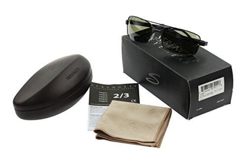 Gafas Negro Polarizadas Tosca Mate Serengeti Fotocromáticas de Titanio Sol Medio Tamaño de Ligeras Lentes rCarxqw