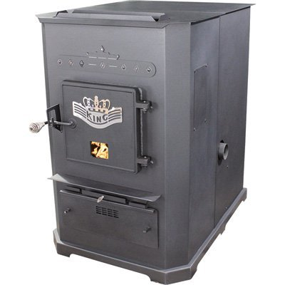 United States Stove Company Multifuel Furnace - 105,000 BTU, Model# (Multi Fuel Corn)