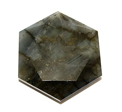Labradorite Crystal Healing Tool Large Star of David SODLAB1925 by Gifts and Guidance