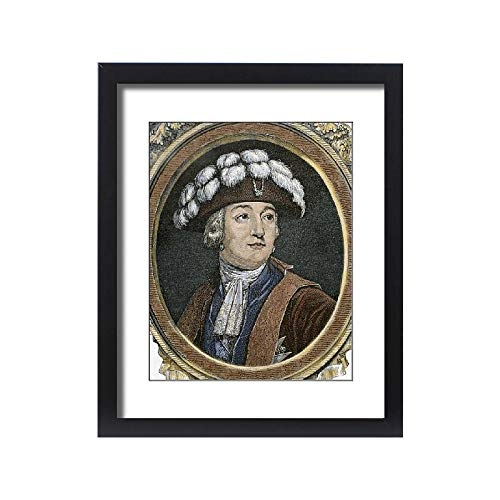 Media Storehouse Framed 20x16 Print of Orleans, Louis Philippe Joseph, Duke of Montpensier and Orleans (13947065) - French Louis Philippe Period