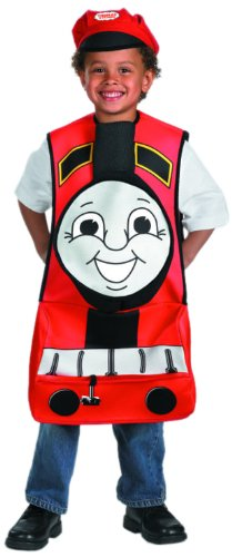 James Costume,Fits up to size 6 (Thomas And Friends Costumes)