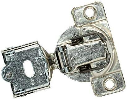 "25x Grass 108 Deg 1//4/"" Overlay Self Close Screw Compact Cabinet Hinge 04396-15"
