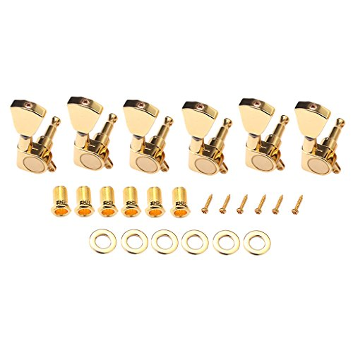 Guitar Tuning Pegs Keys Tuners Cabezales De Máquina Para LP Electric Guitars-Gold